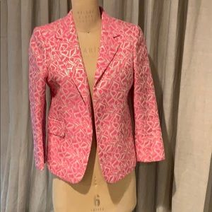 Authentic Marni neon pink and silver jacket